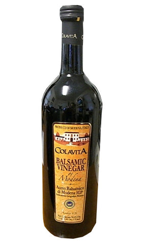 Balsamic Vinegar of Modena (Colavita) 34 fl.oz. (1 Liter) - Parthenon Foods