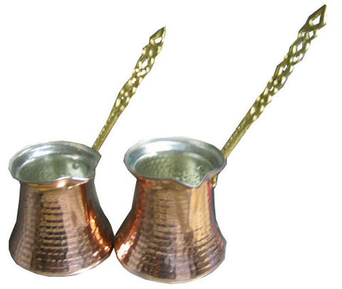 Copper Coffee Pot (X-Small) #2 - Parthenon Foods