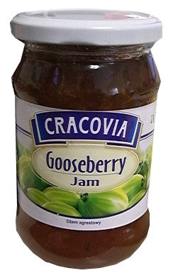 Cracovia Gooseberry Jam 380g - Parthenon Foods