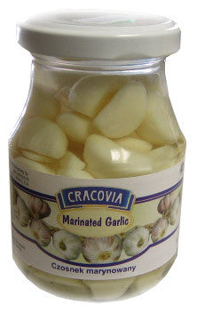 Garlic Cloves Marinated (Cracovia) 190g - Parthenon Foods