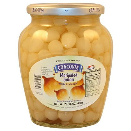 Marinated Onions (cracovia) 680g - Parthenon Foods
