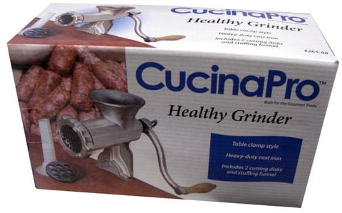 Meat Grinder, Mincer (CucinaPro) no. 8 Clamp, Item 265-08 - Parthenon Foods