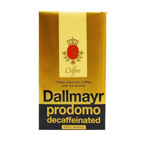 Dallmayr Prodomo DECAFFEINATED Coffee, 500g - Parthenon Foods