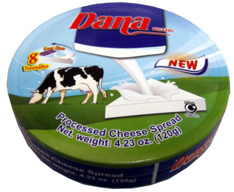 Dana Cheese Spread Wedges, 120g - Parthenon Foods