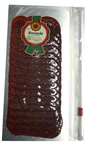 Bresaola, Dried Cured Beef, Sliced (Daniele) 3 oz (85g) - Parthenon Foods