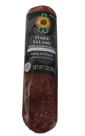 Hard Salame (Daniele) approx. 7 oz (198g) - Parthenon Foods