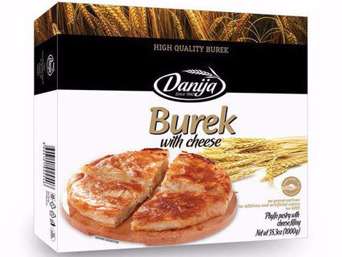 Burek with Cheese (Danija) 1kg - Parthenon Foods