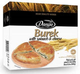 Burek with Spinach and Cheese (Danija) 1kg - Parthenon Foods