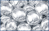 Decorative Silver Dragees, Lentil, approx. 1.3oz - Parthenon Foods