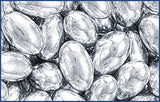 Decorative Silver Dragees, Rice, approx. 1.3oz - Parthenon Foods