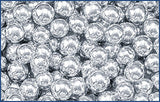 Decorative Silver Dragees, No.4 Sphere, approx. 1.3oz - Parthenon Foods