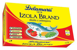 Mackerel Salad - Izola Brand (Delamaris) 125g (4.4oz) - Parthenon Foods