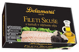 Mackerel Fillets with Truffles in Olive Oil (Delamaris) 125g (4.4oz) - Parthenon Foods