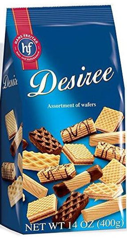 Assorted Biscuits and Wafers - Desiree, 400g - Parthenon Foods