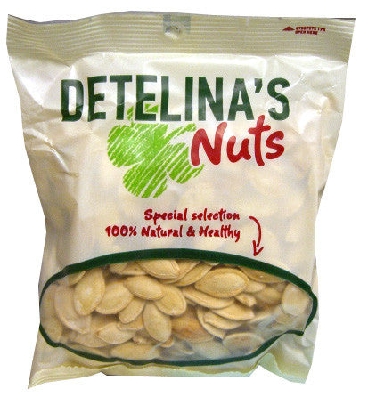 Pumpkin Seeds, Bulgarian, (Detelina) 100g - Parthenon Foods