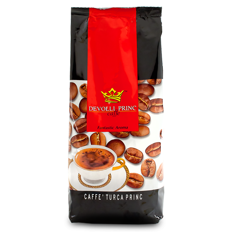 Devolli Caffe Turca Princ Ground Coffee, 500g - Parthenon Foods