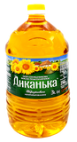 Sunflower Oil - Unrefined (Dikanka) 3L - Parthenon Foods