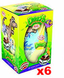 Dino's Chocolate Egg with Surprise, 6 PACK (6 x 70g) - Parthenon Foods