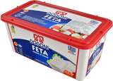 Greek Feta Cheese Dodoni, 2kg (4.4lb) Plastic - Parthenon Foods
