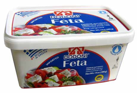 Greek Feta Cheese Dodoni, 400g - Parthenon Foods