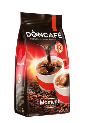DonCafe Classic Moment Coffee (Red Bag), 200g - Parthenon Foods