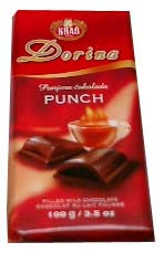 Punch Filled Milk Chocolate (kras) 3.5oz (100g) - Parthenon Foods