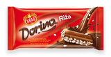 Dorina Riza, Milk Chocolate with Puffed Rice, 75g - Parthenon Foods