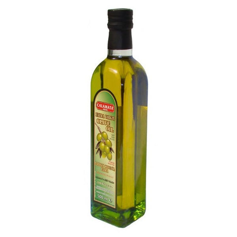 Extra Virgin Olive Oil - First Cold Pressed, 500ml - Parthenon Foods