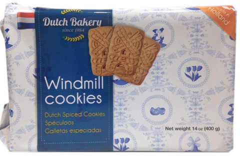 Windmill Cookies (Dutch Bakery) 14 oz (400g) - Parthenon Foods