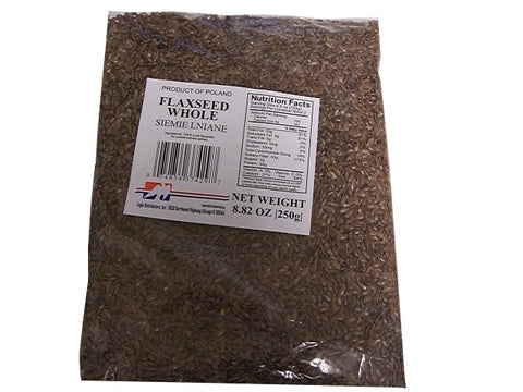 Flaxseed, Whole (Eagle) 8.82 oz (250g) - Parthenon Foods