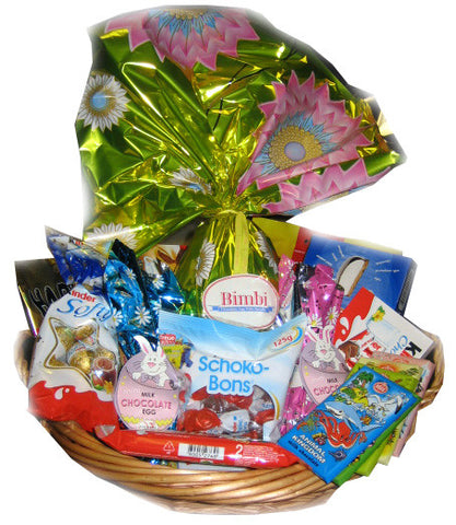 Easter Gift Basket 17pc - Parthenon Foods