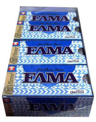 Mastic Gum DENTAL (ELMA) CASE 20x10 pieces - Parthenon Foods
