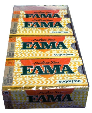 Mastic Gum SUGAR FREE (ELMA) CASE 20x10 pieces - Parthenon Foods