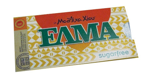 Mastic Gum SUGAR FREE (ELMA) 10 pieces, 14g - Parthenon Foods