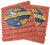 Minced Meat Sticks Hot - Leskovacki Cevapi, approx. 2.2 lb Plastic - Parthenon Foods