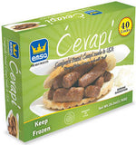 Minced Meat Sticks - Sarajevski Cevapi, 1.76 lb Box - Parthenon Foods