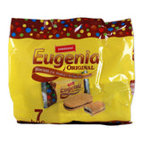 Eugenia Original Biscuit with Cacao 252g (7x36g)-yellow bag - Parthenon Foods