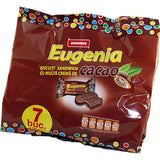 Eugenia Cacao Biscuit with Cacao 252g (7x36g)-brown bag - Parthenon Foods  - 2