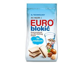 Euro Blokic Mini Bars (Takovo) 140g Bag - Parthenon Foods