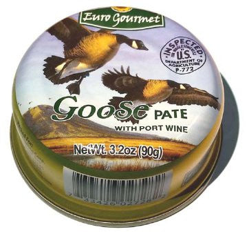 Goose Pate with Port Wine (EuroGourmet) 90g - Parthenon Foods
