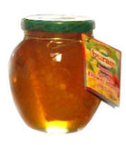 Pure Bee Honey with Comb (buram), 16 oz - Parthenon Foods