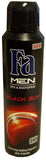 Fa Spray Deodorant, Black Spice, 150ml - Parthenon Foods