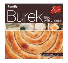 Family Burek with Cheese, 500g - Parthenon Foods