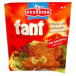 Fant Breading Mix with Tomato Sauce, 89g -Not Pictured - Parthenon Foods