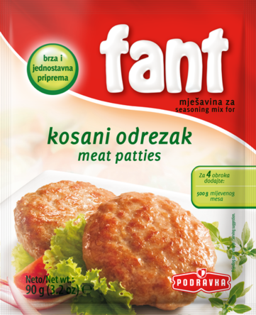 Fant Seasoning Mix for Meat Patties, 3.2oz - Parthenon Foods