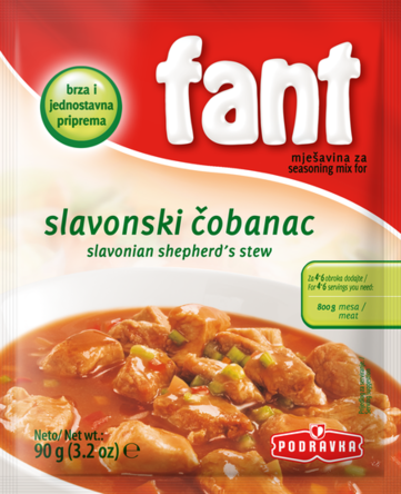 Fant For Slavanian Shepherds Stew, 90g - Parthenon Foods