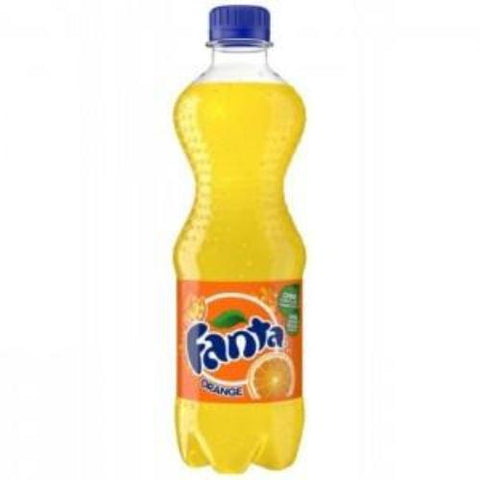 Fanta Orange Soda, 0.5L - Parthenon Foods