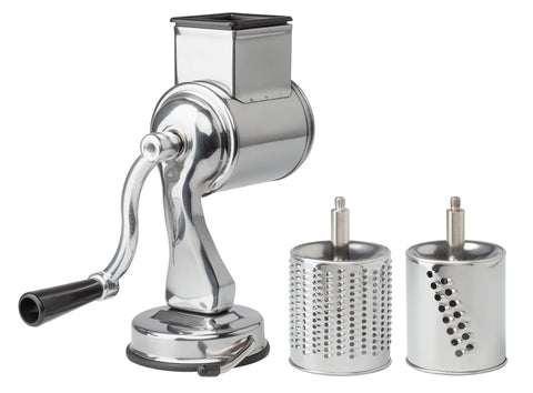 Universal Grater-Fine and Coarse Grater Drums with Suction Base (Fante's Cousin Nico's) - Parthenon Foods