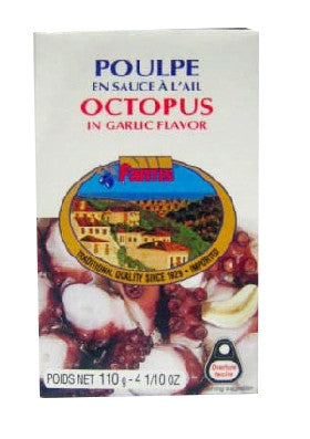 Octopus in Oil and Garlic (fantis) 115g - Parthenon Foods