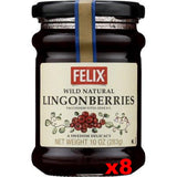 Felix Lingonberries Jam CASE (8 x 10 oz) - Parthenon Foods